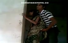 Desi ex-wife With Lover Enjoying Hot making out in