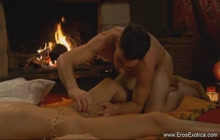 Indian romantic massage