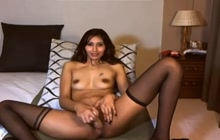 Amateur Indian dildo fucking