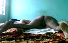 Amateur Desi couple have their love making time