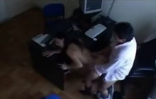 Hot Indian secretary fucked at the office