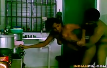 Sexy Indian wife fucked in the kitchen