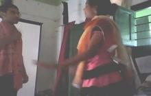 Desi girl is camera shy