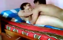 Desi Amateurs Fucking On The Bed