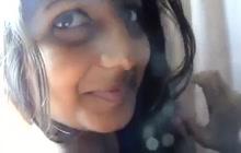 Naked Indian girl under shower