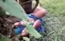 Amateur BBW Indian slut fucked in woods